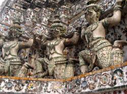 Thaïlande, Voyages, Mowxml, temple