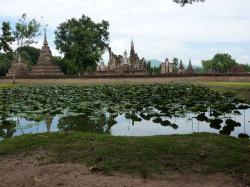 Thaïlande : la plaine centrale : la visite de Sukhothaï