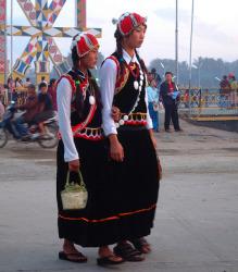 Thaïlande : les ethnies montagnardes : les lahu et les akha